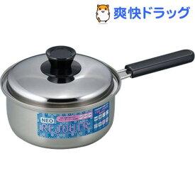 ネオレジュール 三層鋼片手鍋 18cm NR-5454(1コ入)【ネオレジュール】