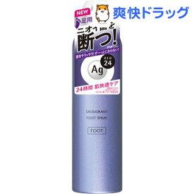 エージーデオ24 フットスプレー h 無香料(142g)【エージーデオ24】
