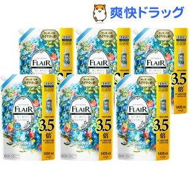 フレアフレグランス 柔軟剤 フラワー&ハーモニー 詰め替え ウルトラジャンボ梱販売用(1400ml*6個入)【フレア フレグランス】