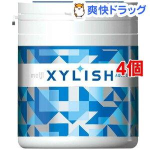 キシリッシュガム アクアクール ボトル(94g*4個セット)【キシリッシュ】