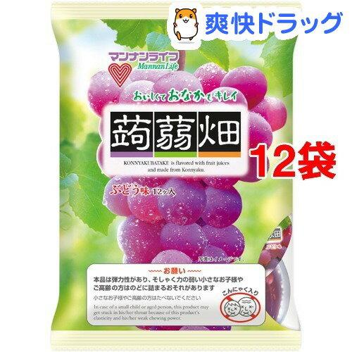 蒟蒻畑 ぶどう味(25g*12コ入*12コセット)【蒟蒻畑】