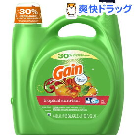 ゲイン 洗濯用洗剤 トロピカルサンライズ(4.43L)【ゲイン(Gain)】
