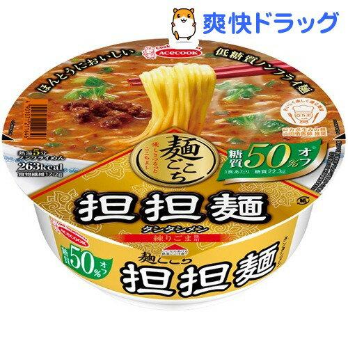 エースコック 麺ごこち 糖質50%オフ 担担麺(1コ入)【エースコック】