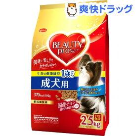 ビューティープロ ドッグ 成犬用 1歳から 小分け6袋入(2.5kg)【ビューティープロ】