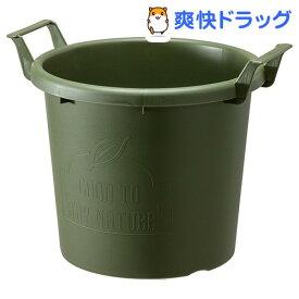 グロウコンテナ 35型 グリーン(1コ入)【大和プラスチック】