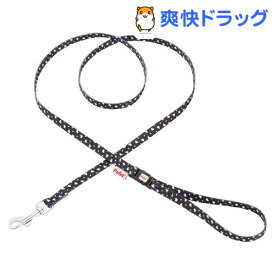 ペティオ アルファッション ハートドットリード XS SS ブラック(1コ入)【アルファッション(ARFashion)】