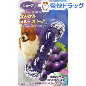 かみかみフルーツロープ ウェーブ グレープ(1コ入)【スーパーキャット】