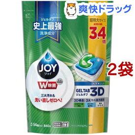 ジョイ ジェルタブ 食洗機用洗剤(54コ入り*2コセット)【cga07】【sws05】【stkt06】【ジョイ(Joy)】