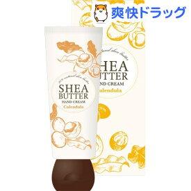 生活の木 シアバター ハンドクリーム カレンデュラ(60g)【生活の木】