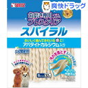 ゴン太の歯磨き専用ガム ブレスクリアスパイラル アパタイトカルシウム入り S(32本入)【ゴン太】