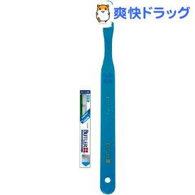 サンスター バトラー(BUTLER) 歯ブラシ ミディアムコンパクト フラットカット(#211)(1本入)【バトラー(BUTLER)】