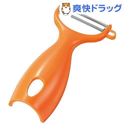 キッチンアラモード 立つピーラー オレンジ KAT-01O(1コ入)【キッチンアラモード】
