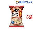 アマノフーズ 炙りかに雑炊(21.0g*1食入*6袋セット)【アマノフーズ】