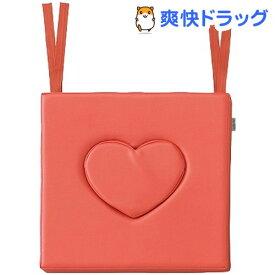 ナビス 車いすハートクッション オレンジ(1コ)【navis(ナビス)】