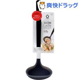 マーナ トライアングリップ シリコ-ンお玉 ブラック K534BK(1コ入)【マーナ】