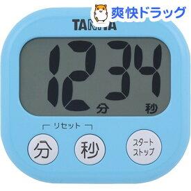 タニタ でか見えタイマー アクアミントブルー TD-384-BL(1台)【タニタ(TANITA)】