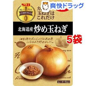 カレープラス 北海道産炒め玉ねぎ(180g*5袋セット)【カレープラス】