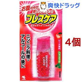 小林製薬 ブレスケア ピーチ味(50粒入*4個セット)【ブレスケア】