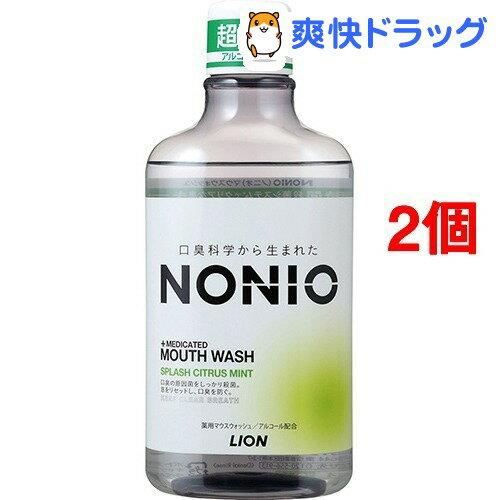 ノニオ マウスウォッシュ スプラッシュシトラスミント(600mL*2コセット)【ノニオ(NONIO)】