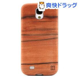 マン&ウッド GALAXY S4 ウッドケース サイサイ ブラック I2185S4(1コ入)【マン&ウッド(Man&Wood)】