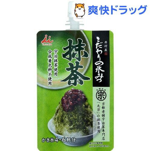井村屋 こだわりの氷みつ 抹茶(4〜6杯分)【井村屋】