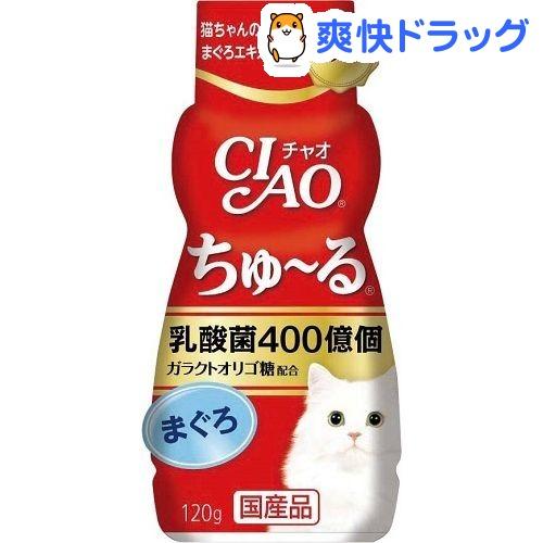 チャオ 乳酸菌 ちゅーる まぐろ(120g)【チャオシリーズ(CIAO)】