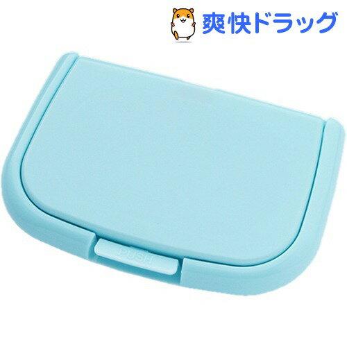 ウエットシートのフタ ポシェット ブルー(1コ入)【180105_soukai】【180119_soukai】