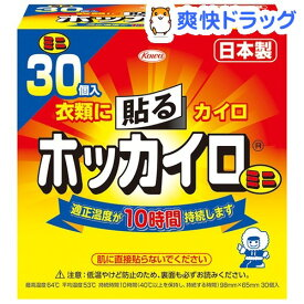 ホッカイロ 貼る ミニ(30コ入)【ホッカイロ】