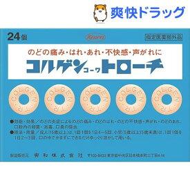 コルゲントローチ(24コ入)【コルゲンコーワ】