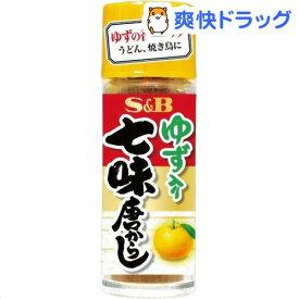 S&B ゆず入り七味唐からし(14g)【S&B シーズニング】