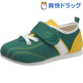 アサヒ健康くん P037 グリーン KC50032- 16cm(1足)