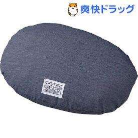ハチ 接触冷感クッションカバー デニム調 オーバル S(1枚入)【ハチ(hachi)】