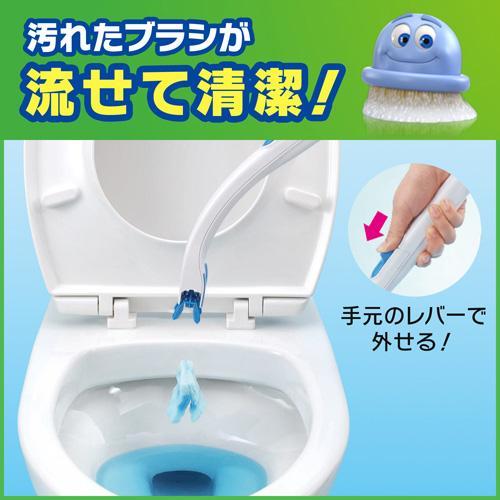 スクラビング バブル トイレ ブラシ