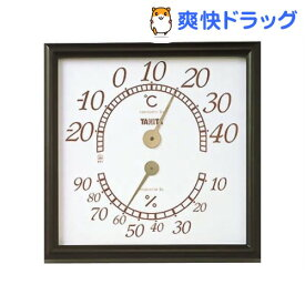 タニタ 温湿度計 オフィスキング ブラウン 5485-BR(1コ入)【タニタ(TANITA)】