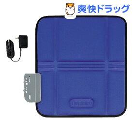 ツインバード シートマッサージャーS ブルー EM-2535BL(1台)【ツインバード(TWINBIRD)】
