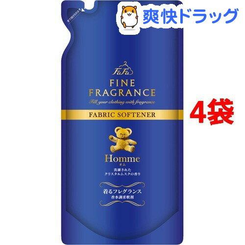 ファーファ ファインフレグランス オム 詰替用(500mL*4コセット)【ファーファ】