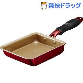 エバークック アルファ 玉子焼き 13*18cm EFPATE13RD(1コ入)【エバークック(evercook)】