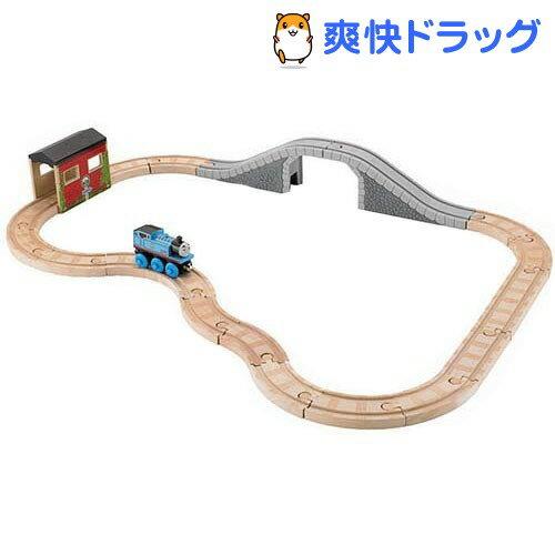 【オススメ】きかんしゃトーマス 木製レールシリーズ 5WAYぐるっと石橋コースセット Y4418(1セット)【送料無料】