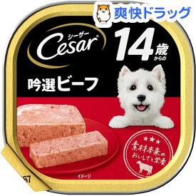 シーザー14歳からの吟選ビーフ(100g)【シーザー(ドッグフード)(Cesar)】[ドッグフード]