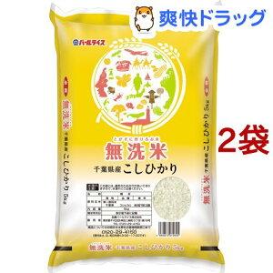 令和2年産 無洗米 千葉県産コシヒカリ(5kg*2袋セット/10kg)【パールライス】
