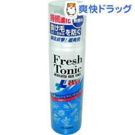 柳屋 薬用育毛 フレッシュトニック 無香料スーパークール(190g)【柳屋】