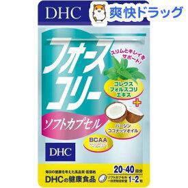 DHC フォースコリー ソフトカプセル 20日分(40粒)【DHC サプリメント】