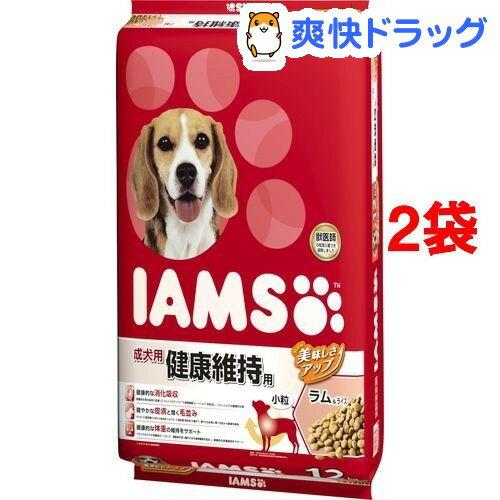 アイムス 成犬用 健康維持用 ラム&ライス 小粒(12kg*2コセット)【d_iams】【IAMS1120_lamb04】【アイムス】