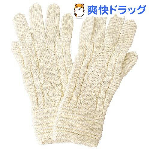 あしごろも しっとりおやすみ手袋 生成 4800-208(1双入)【送料無料】