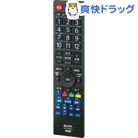 エルパ 地上デジタル用テレビリモコン 東芝テレビ用 RC-TV009TO(1コ入)【エルパ(ELPA)】