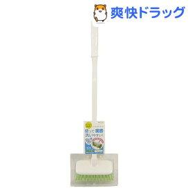 持ちやすい ロング タイル ブラシ 浴室洗い(1本入)