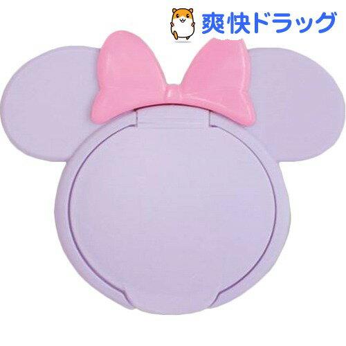 ミニーマウス ウエットティッシュふた パープル*P パープル/ピンク(1コ入)