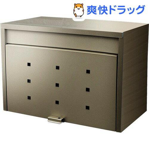 グリーンライフ 大型郵便ポスト メール便対応 FH-70(TGY)(1コ入)【送料無料】