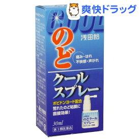【第3類医薬品】のどクールスプレー(30ml)【浅田飴】