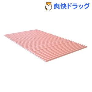 風呂ふた カラフル カラーウェーブ M12 70*120cm用 ピンク(1本入)